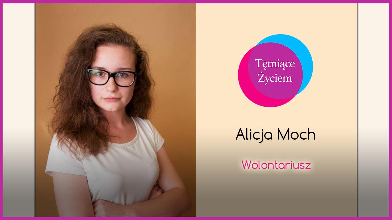 Poznajmy się – Alicja Moch