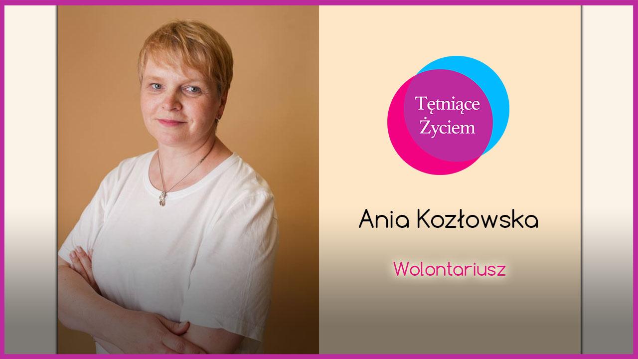 Poznajmy się – Ania Kozłowska