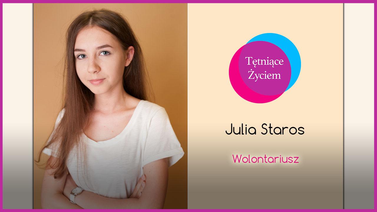 Poznajmy się – Julia Staros
