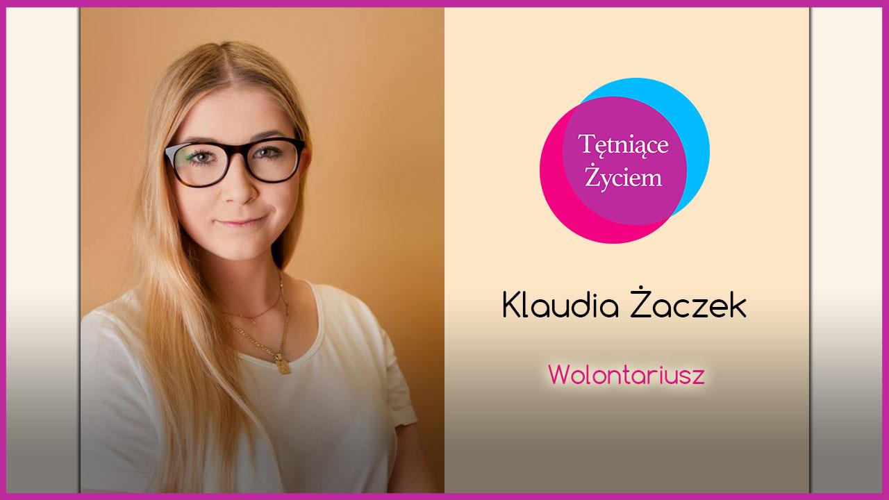 Poznajmy się – Klaudia Żaczek