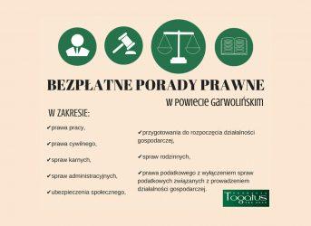 Bezpłatna pomoc prawna Garwolin – darmowa pomoc prawna w Powiecie Garwolińskim