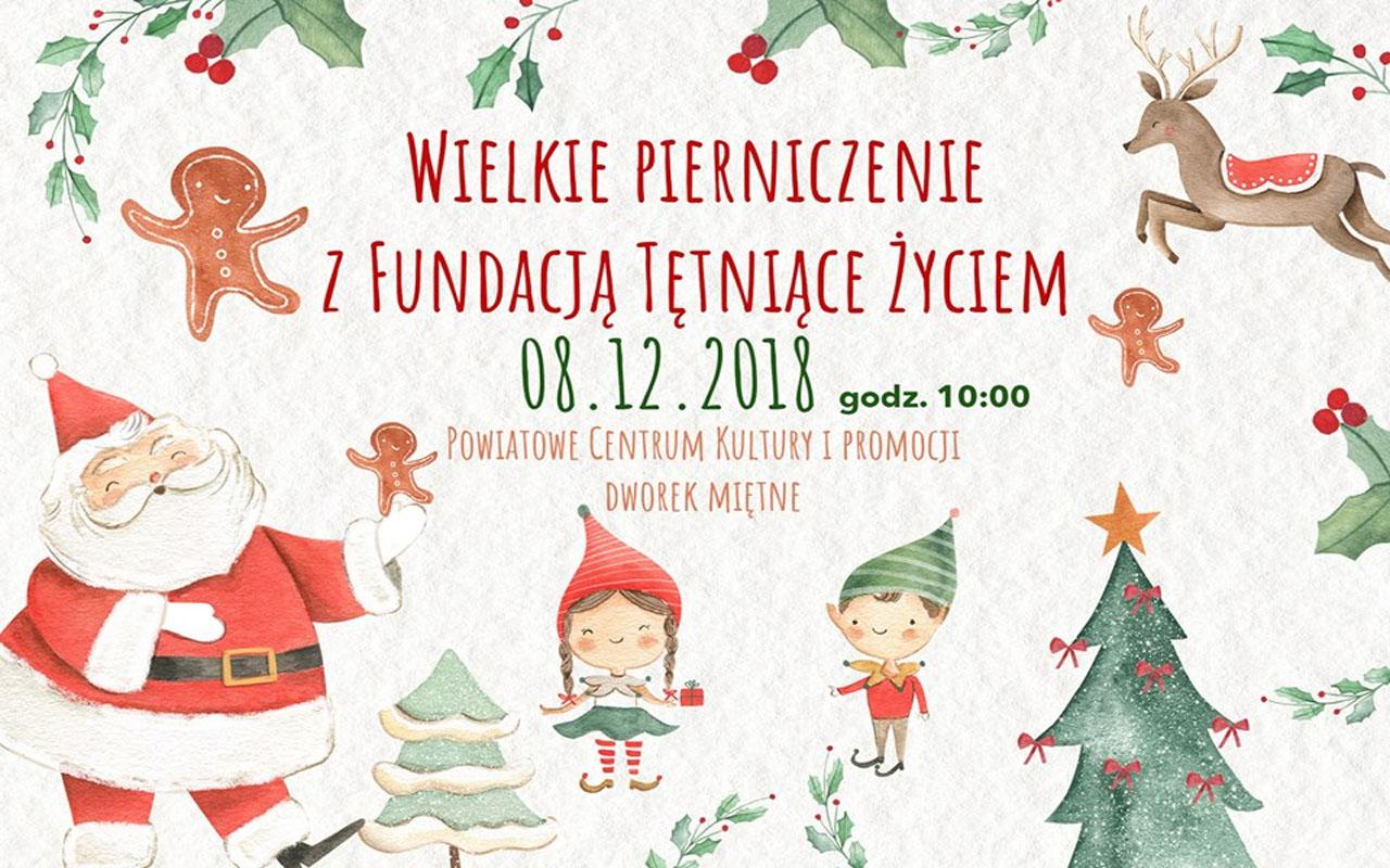 WIELKIE PIERNICZENIE z Fundacją Tetniące Życiem – 08.12.2018 r.